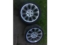 BMW mv2 m sport alloys wheels