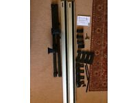 Thule roof rack wing bars 961, short roof adaptor 774 and fitting kit 1503