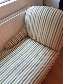 Chaise longue - modern, green, sage, cream