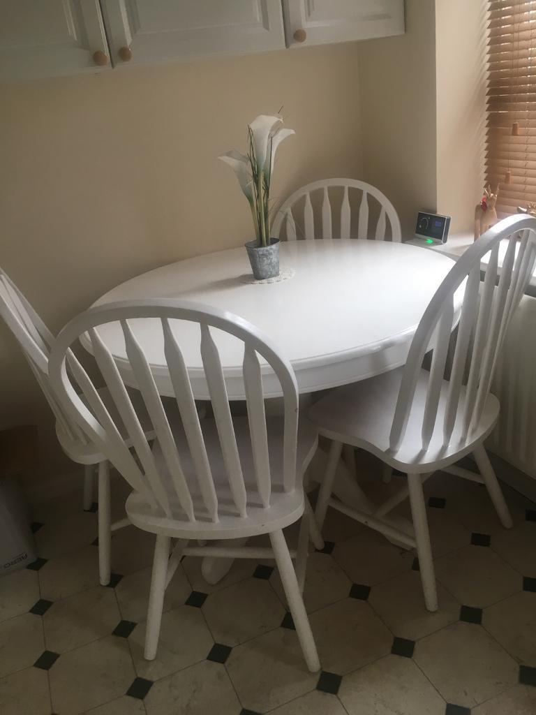 Kitchen Dining Table 4 Chairs