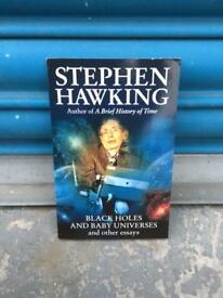 STEPHEN HAWKING BLACK HOLES AND BABY UNIVERSES PB BOOK 1994 90s Science SDHC