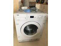 BECO WI1573 integrated washing machine for sale, excellent condition