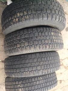 4 pneus 235/75r15 bf goodrich