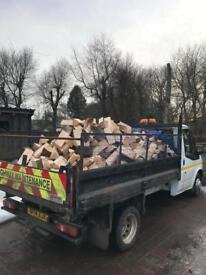 Firewood dry and seasoned