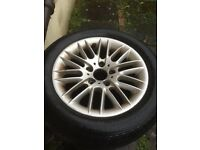 BMW alloy wheel from 2002 bmw 5 series