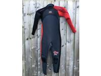 Kids full wetsuit, age 11-12 years