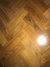 Reclaimed Muhuhu Parquet Flooring - 900 m2 in stock!