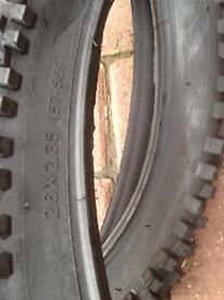 Brand new 26x2.35 mountain bike tyres