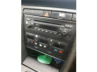 Audi cd player and heater control unit