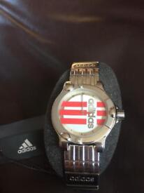 Men's Adidas Watch (Stainless Steel) 100M Water Resistant bought as a gift with tags never used