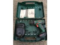 For sale Bosch 14.4v li drill with battery and charger
