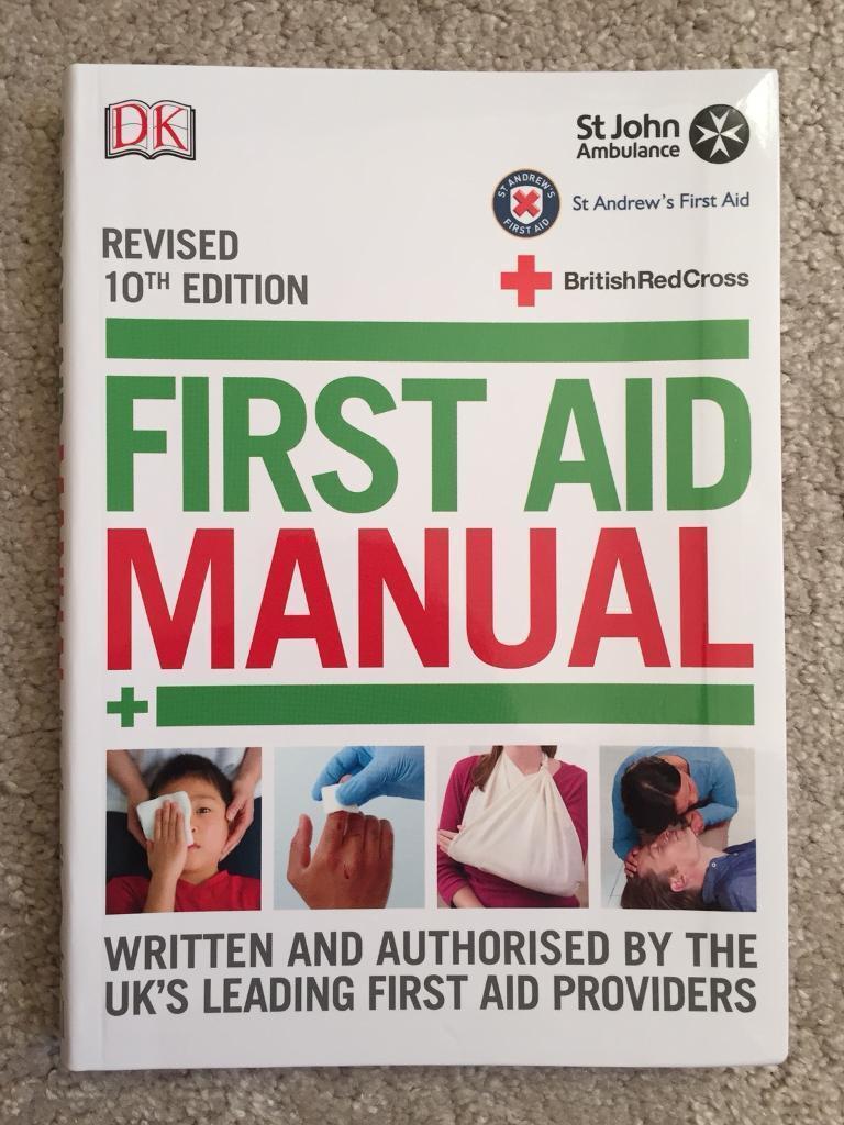 First Aid Manual. Blackburn, Lancashire £8.00.  https://i.ebayimg.com/00/s/MTAyNFg3Njg= ...