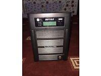 **SOLD**Buffalo TeraStation Pro TS-HTGL/R5 NAS Server with 4 x 250GB Hard Drives, No Key
