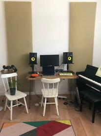 Song writing room / rehearsal room East London