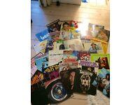 Job Lot of 50 Vinyl Albums
