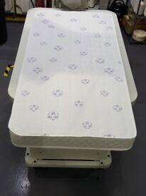 brand new, 70 x 140 cot mattress.