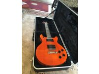 G&S hand made electric guitar with bonded neck and Hard case