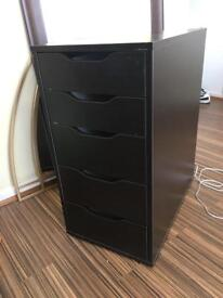 IKEA Alex/Linnmon chest of drawers