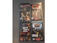 PSP (Sony PlayStation Portable) 4 GAMES