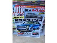 Auto Express Magazines Aug 2003 - March 2012