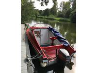 SHETLAND FISHING/LEISURE BOAT - 40hp MARINER ENGINE