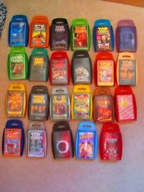 Top Trumps collection, 23 in total inc. some rarities
