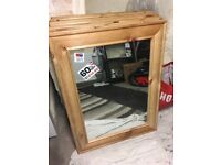 Rustic & painted mirrors