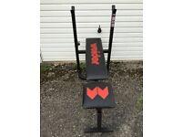 Weiider folding weight bench