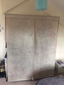 Modular Fabric Wardrobe