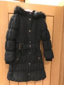 Girls winter coat aged 8-9 years