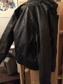 Small Korean leather jacket £10