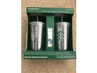 Starbucks Tumbler Set BNIB