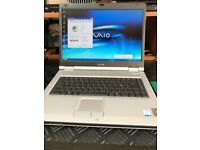 Sony Vaio Laptop (older model) with Windows XP, Still looks like new