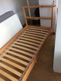 Ikea Dalselv single pine bed