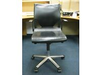 Leather black Modus Wilkhahn office chair