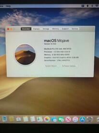 13 3' Apple MacBook Pro Retina Core i5 2 4GHz 8gb Ram 128gb