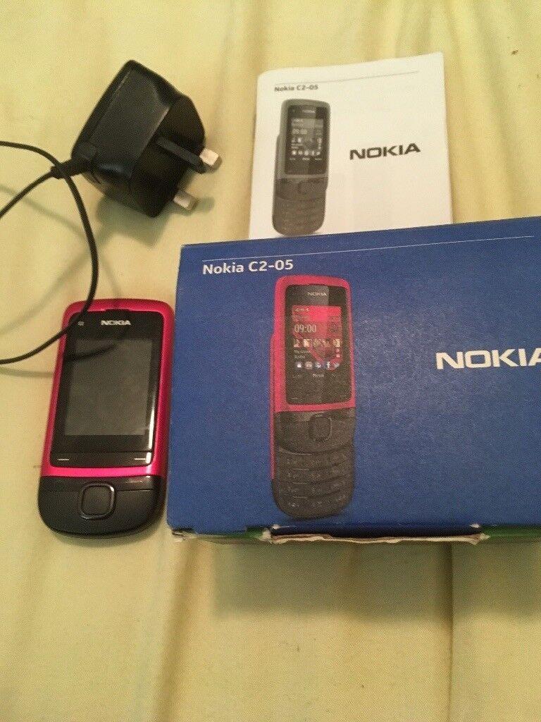 C2-05 Nokia mobile phone