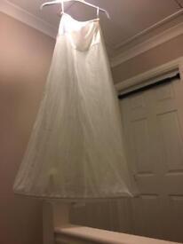 Wedding dress hoop / underskirt
