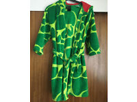 Childs H & M Hooded Crocodile Dressing Gown 6 - 8 Years