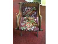 Victorian CHAIR. Very nice, very old, very much in need of a home and some TLC