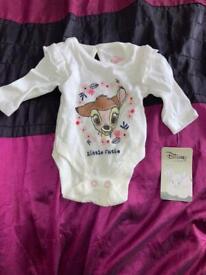 Newborn baby bodysuit