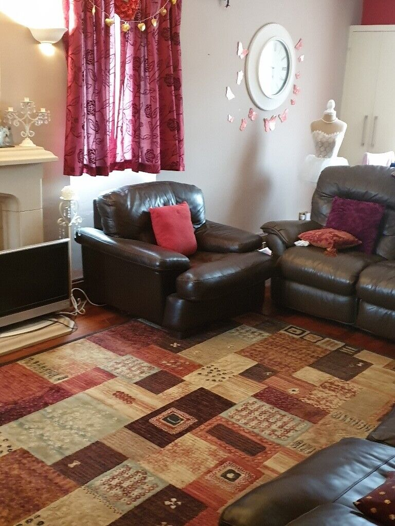 Peachy Final Reduction With Possible Local Delivery Brown Leather Sofa And Or Single Leather Chair In Swansea Gumtree Pdpeps Interior Chair Design Pdpepsorg
