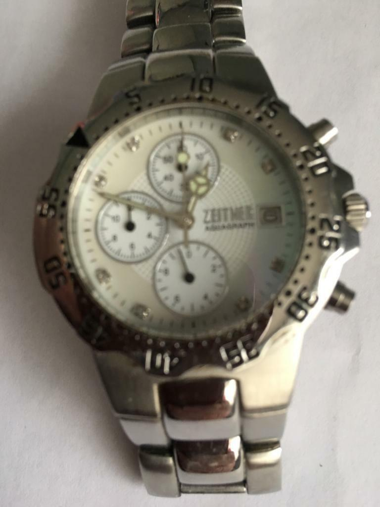 2213d279f4c8 Gents Zeitner Aquagraph Diamond Chronograph Watch Keyingham. Hull