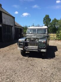 """Land Rover 2A 1966 Petrol -SWB/88"""" 112,000 miles. New MOT In genuinely original and sound condition."""