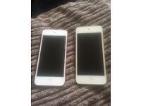 IPod touch x2 (red) (green)
