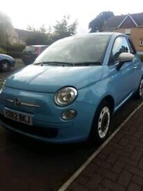 FIAT 500 1.2 BABY BLUE 2013