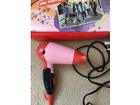 Child's hair dryer (travel)
