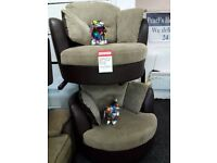 Dfs swivel chairs set
