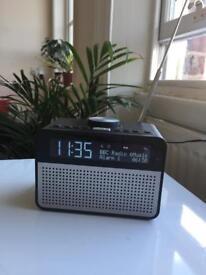 John Lewis Astro DAB clock radio Alarm