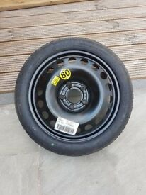Space saver Vauxhall spare wheel BRAND NEW